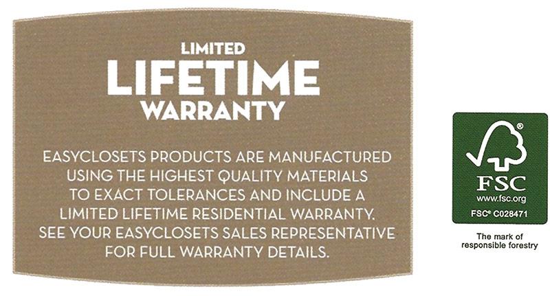 Techline Lifetime's Warranty