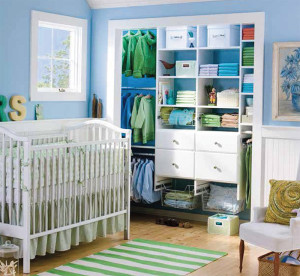 Techline Reach-In Closets for Kids