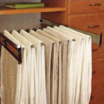 Techline System Slide Out Pant Rack
