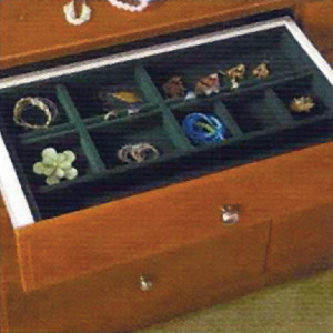 Techline Systems Velvet Jewelry Tray