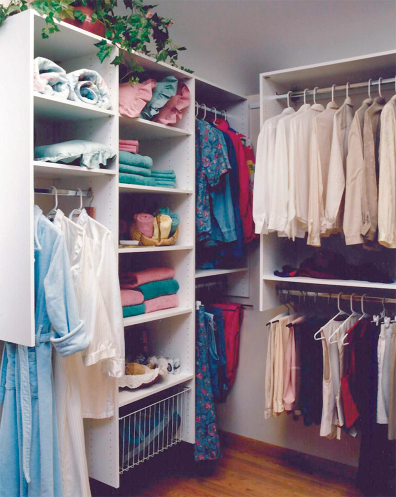 Techline Walk-in Closet Systems
