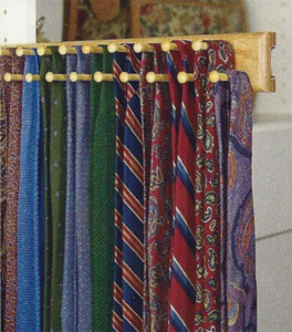 Belt and Tie Rack