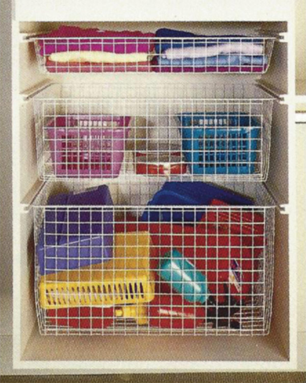 Wire Baskets for Closets